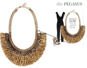 Pegasus necklace - Stella & Dot