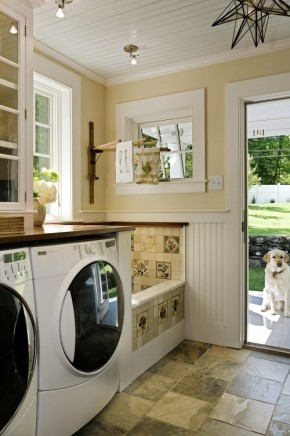 Stunning-laundry-room--mud-room---dog-shower-traditional-laundry-room-other-metros