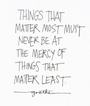 things-that-matter-most